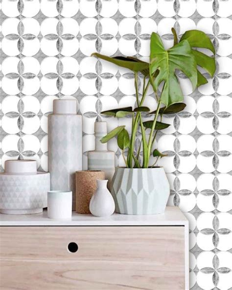 Awesome Tile Stickers Removable Vinyl Wallpaper Designs Solution For Renters by Marble Effect Wallpaper Removable Vinyl
