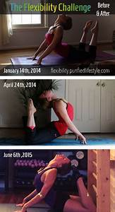 The Flexibility Challenge | Feet To Head | Before and ...