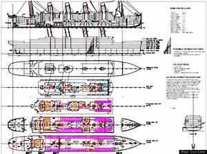 Titanic Ship Diagram