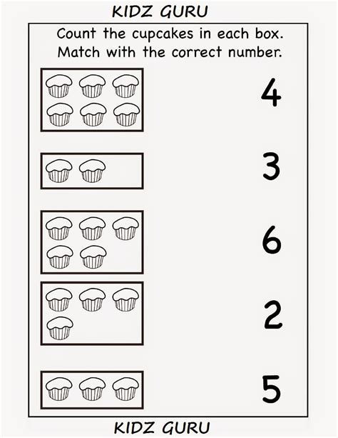 kindergarten worksheets printable worksheets count and