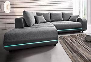 Sofa Mit Boxen Und Led : polsterecke inklusive rgb led beleuchtung wohnzimmer ~ Bigdaddyawards.com Haus und Dekorationen