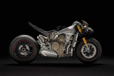 The Ducati Panigale V4 With Its Clothes Off