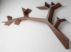 Fabriquer Une étagère Murale Originale : etagere murale bois originale ~ Dode.kayakingforconservation.com Idées de Décoration
