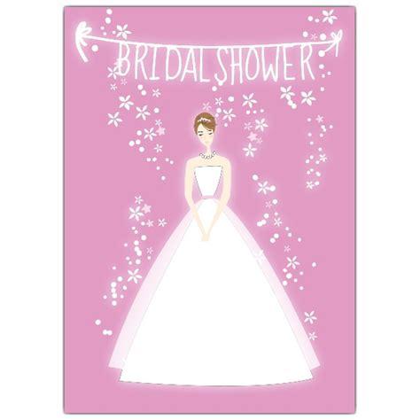 bridal shower bride pink bridal shower invitations paperstyle