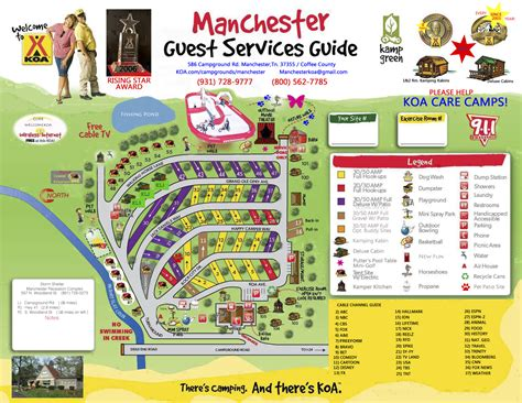 Manchester Tennessee Area Attractions  Manchester Koa