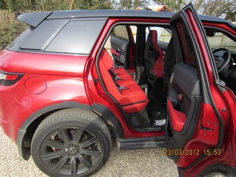 multimac range rover evoque child car seats