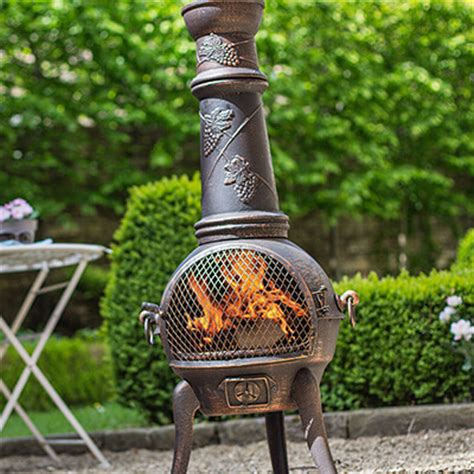Chiminea Shop by Cast Iron Chimeneas And Baskets Bowls Grills Uk