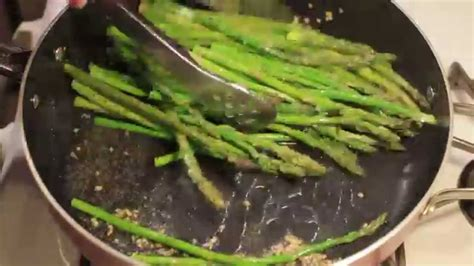 how to cook asparagus how to cook asparagus in a pan youtube