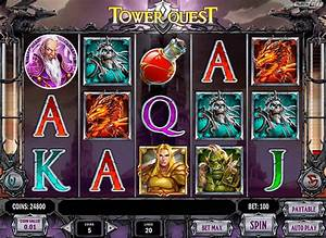 Tower Quest Spelautomat Play n Go Casino Slot Spela Gratis