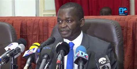 chambre d agriculture vend馥 alioune sarr ministre du commerce le riz sénégalais se vend convenablement