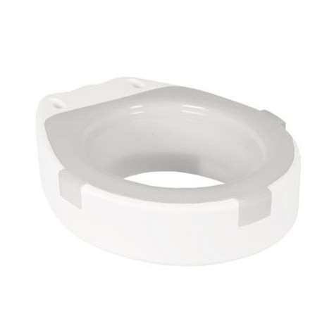 1med toilet seat adapter with splash guard round shape