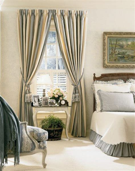 Striped Drapery by Design Trend Striped Drapes Drapery