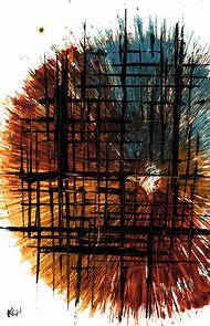 Modern Abstract Expressionism Painting