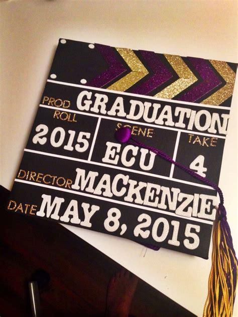 film slate graduation cap crafts pinterest