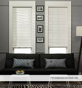 Phase Ii 1 1  2 U0026quot  Cordless Faux Wood Blinds