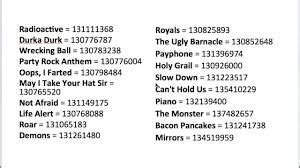 roblox  codes bypassed  getrobloxmusic
