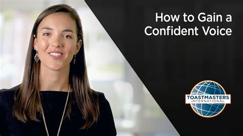 how to gain a confident voice youtube