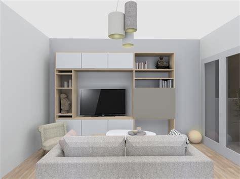 meuble de bureau sur mesure réalisation cappuccinno et vanille skéa designer