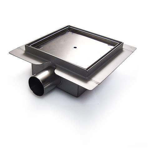 square stainless steel shower drain tile insert www