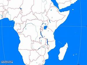 Africa: East Africa Outline Map - A Learning Family