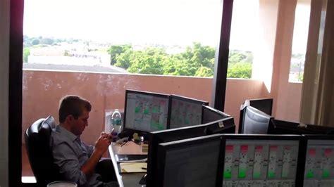 miami trading floor office  youtube