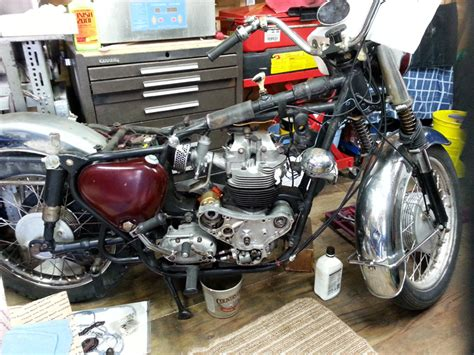 Vintage Motorcycle Engine / Transmission Rebuilds, Ma Ri