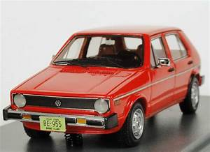 Vw Golf I    Volkswagen Rabbit 4t U00fcrig  1975  Rot Neo Scale