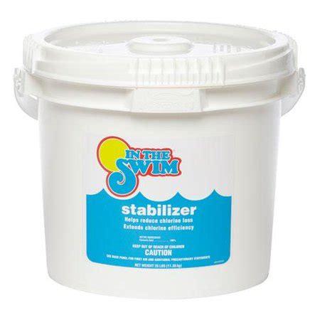 swim pool chlorine stabilizer  conditioner