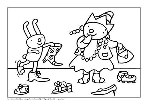 Kleurplaat Sinterklaas Pietje Puk by Kleurplaat De Kleren Puk Thema Kleding