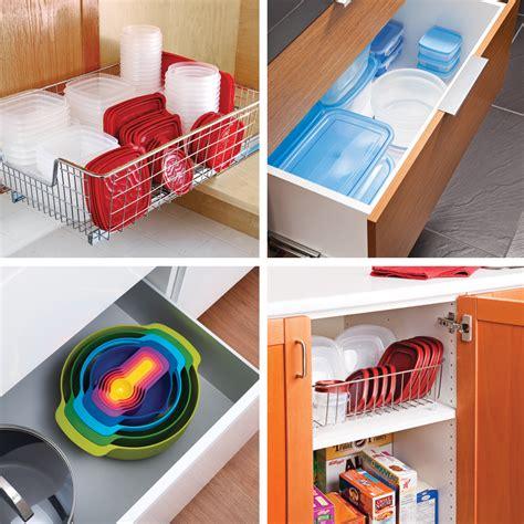 comment ranger efficacement les contenants de plastique dans la cuisine trucs et conseils