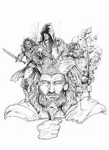 Lord Coloring Rings Tolkien Deviantart Nachocastro Hobbit Aragorn Adult Drawings Sketches Lotr Legolas Character Gandalf Tattoo Inspiration Illustration Earth Middle sketch template