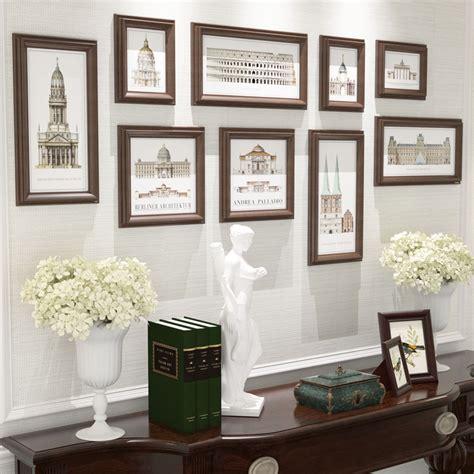 vintage picture frames set frames for home decoration mural wall decoration porta retrato multi