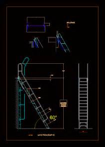 ladder  roof access  dwg elevation  autocad designs cad
