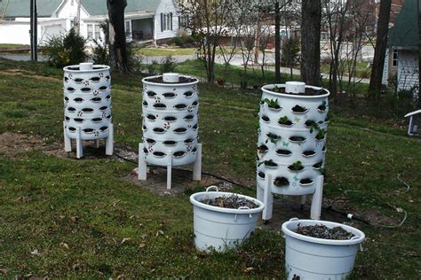 diy garden tower container garden and composter