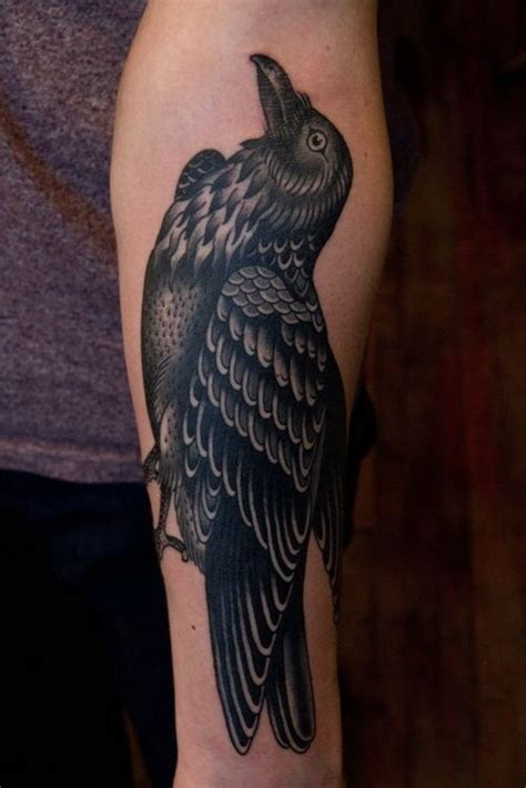 good tattoo cover  ideas  arm tattoo ideas raven