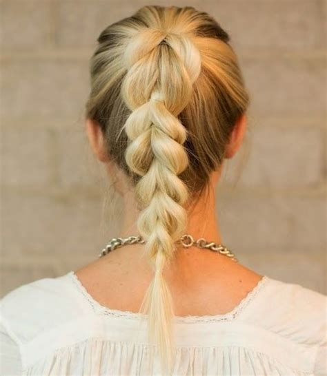 Ponytail Braid Hairstyles For by 38 And Easy Braided Hairstyles