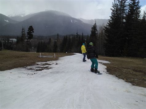 Excellent Spring Season Snow Conditions In Whistler It Is