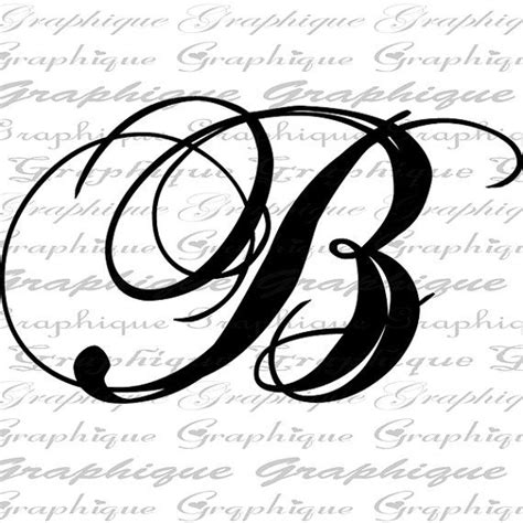 monogram initial letter  digital collage sheet burlap digital  calligraphy  burlap