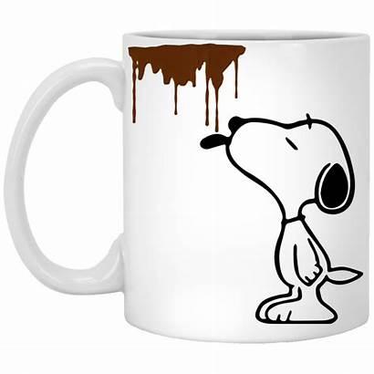 Clipart Coffee Funny Snoopy Dirty Mug Mugs