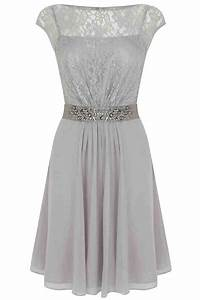 Short grey bridesmaid dresses wedding and bridal inspiration for Gray dresses for wedding