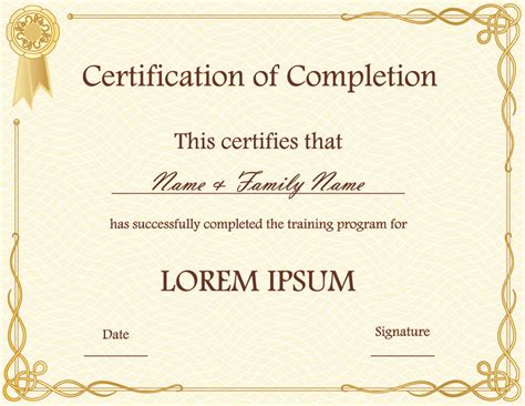 Awards Certificates Templates Free by Blank Award Certificate Templates Certificate Templates