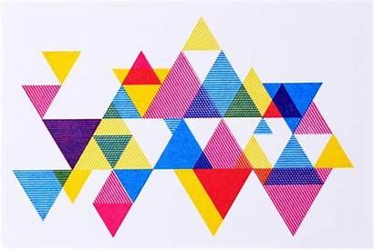 Geometric Shapes Graphic Triangles Triangle Process Shape
