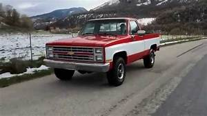 1985 Chevy K10 Short Bed 4wd