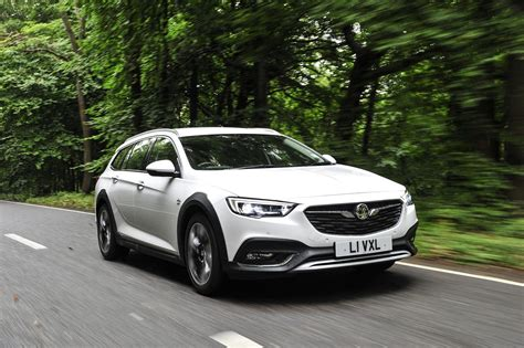white  vauxhall insignia country tourer shines