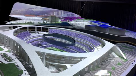 model center breathes life  rams chargers stadium