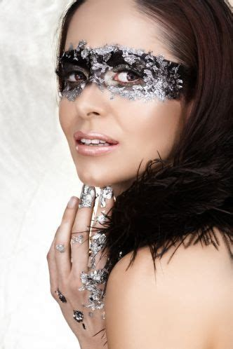 glitzer make up fasching maske make up silber make me beautiful schminktipps fasching schminken und karneval ideen