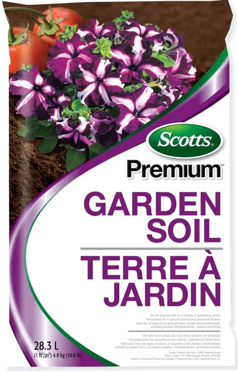 scotts scotts premium garden soil the home depot canada