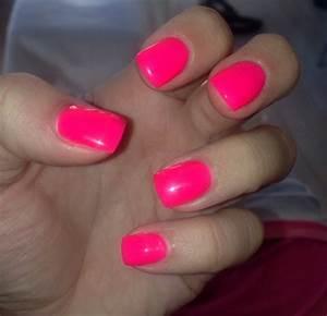 Neon Pink Manicure | www.pixshark.com - Images Galleries ...