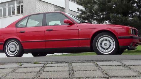 Bmw M5 E34 Rot 1990