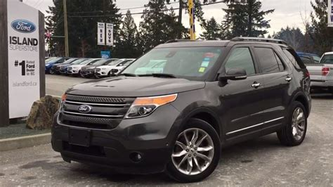 2015 Ford Explorer Limited 4 Wd + Navigation Review